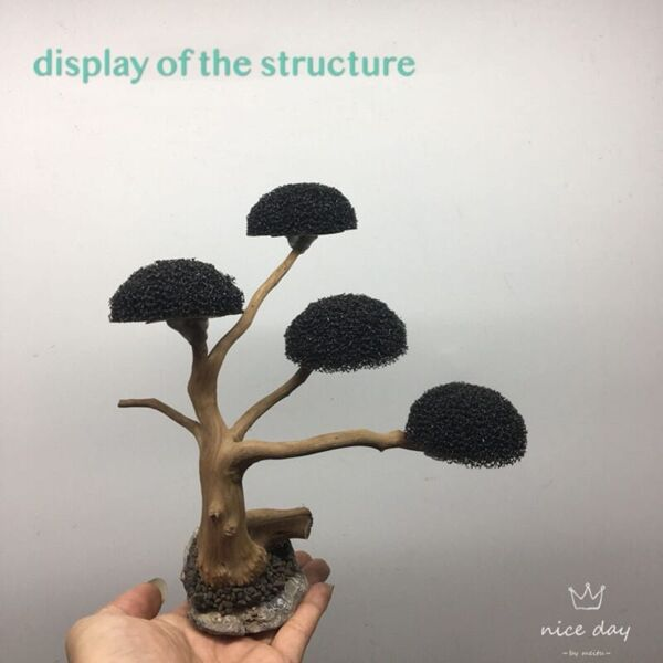 'Mushroom' Tree Moss