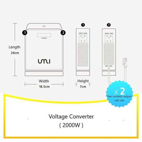 Voltage Converter / Transformer